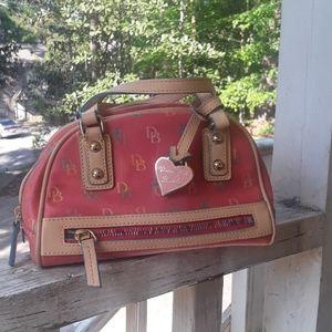 Vintage Dooney & Bourke Mini signature gym handbag